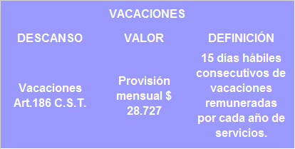 VACACIONES 2016 www.4consultores.com.co