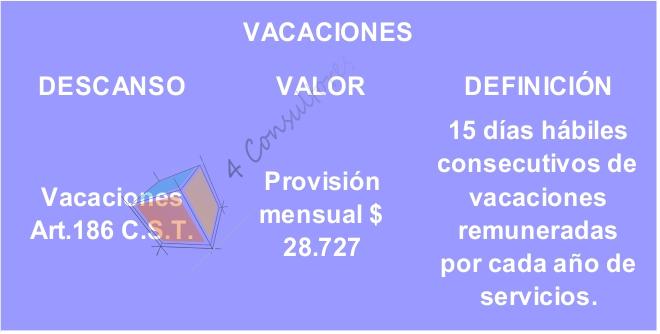 vacaciones 2017 www.4consultores.com.co